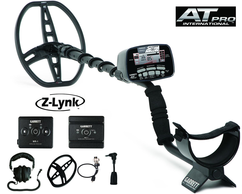 Detektor kovov Garrett AT PRO a Z-LYNK