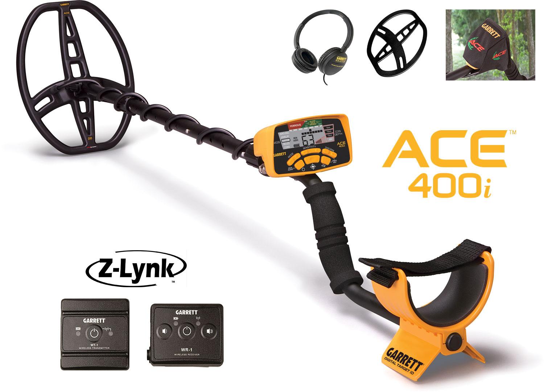 Detektor kovov ACE 400i a Z-LYNK a príslušenstvo