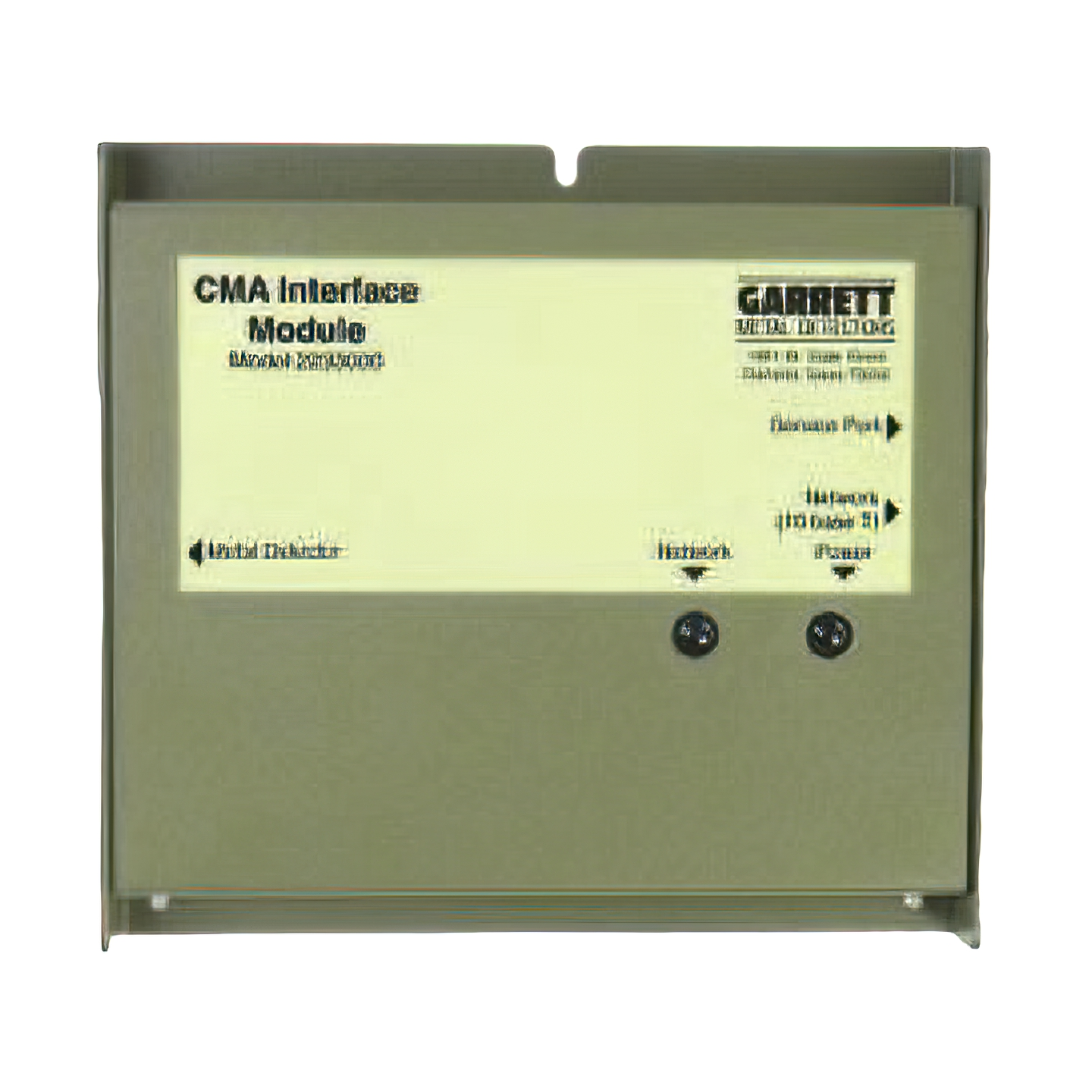 CMA interface Garrett  pre PD 6500i
