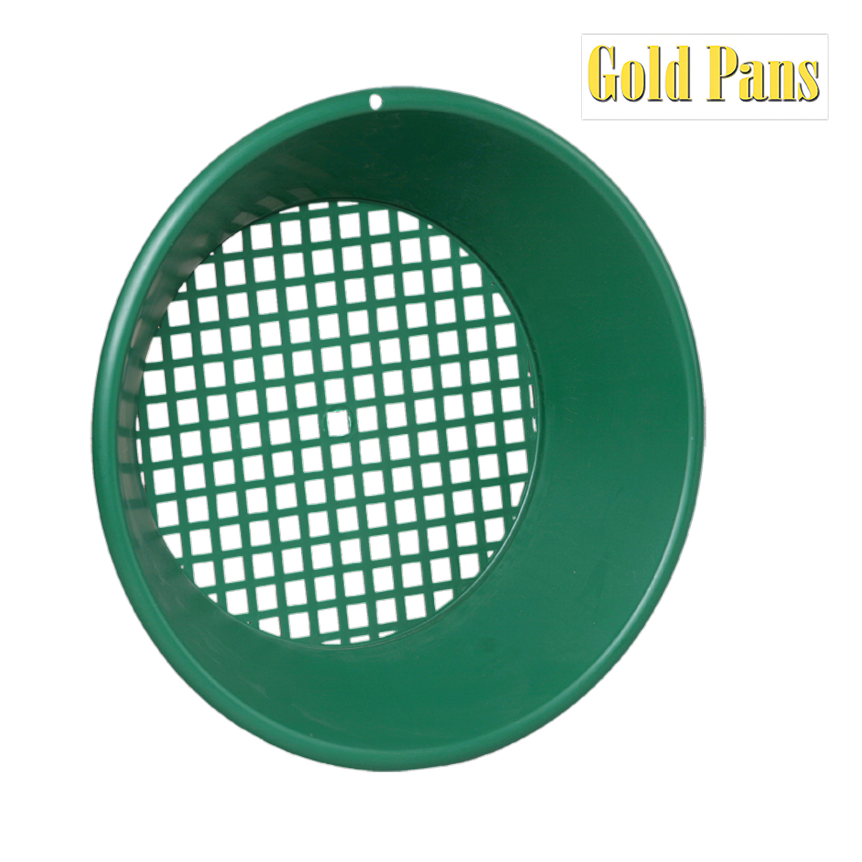 Zelená plastová rýžovacia panvica Garrett 14
