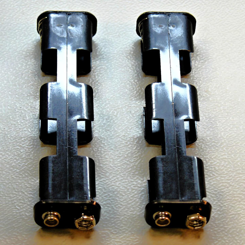 Zásobníky batérií Garrett čierne GTAx/GTP a AT